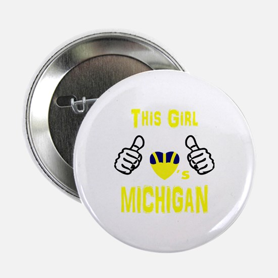 "Unique College football 2.25"" Button"