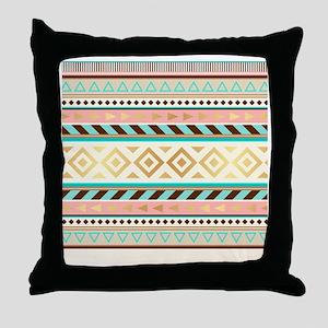 Trendy Tribal Throw Pillow