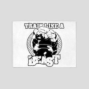 Beast Gym 5'x7'Area Rug