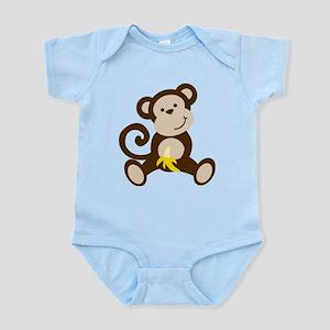 Cute Monkey Body Suit