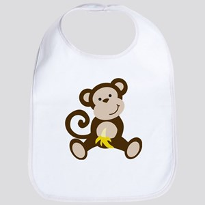 Cute Monkey Bib