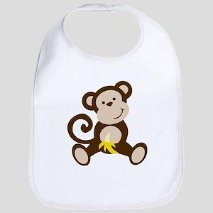 Cute Monkey Bib