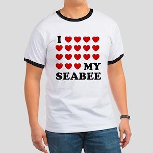I (hearts) My Seabee T-Shirt