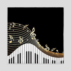 Ivory Keys Piano Music Queen Duvet