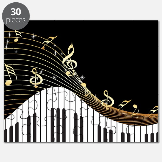 Ivory Keys Piano Music Puzzle