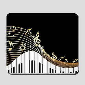 Ivory Keys Piano Music Mousepad