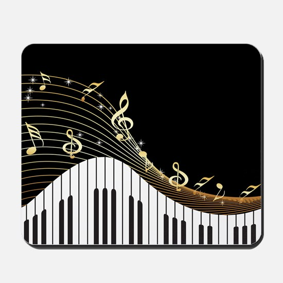 Ivory Keys Piano Music Mousepad