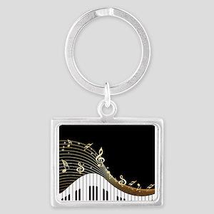 Ivory Keys Piano Music Keychains