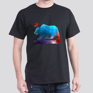 California Republic Bear (fractal design) T-Shirt