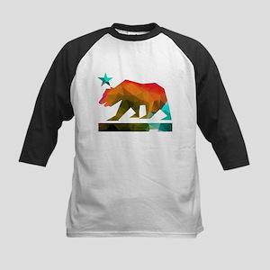 California Republic Bear (fractal design) Baseball