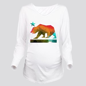 California Republic Bear (fractal design) Long Sle