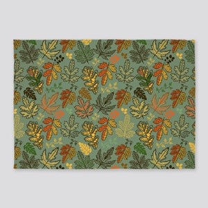 Leaves of Fall 5'x7'Area Rug