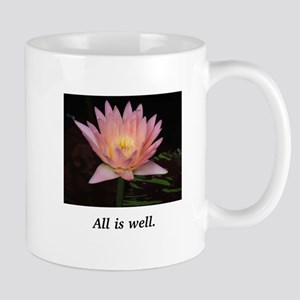 All Is Well Lotus Gifts Mugs
