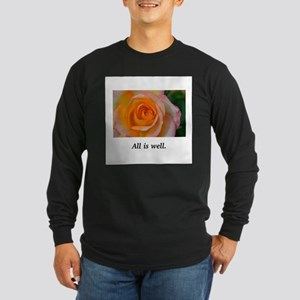 All Is Well Rose Blessings Long Sleeve T-Shirt