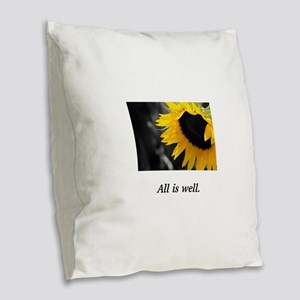 Sacred Sunflower Divine Well-Being Gifts Burlap Th