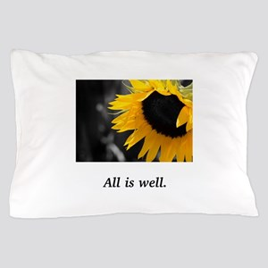Sacred Sunflower Divine Well-Being Gifts Pillow Ca