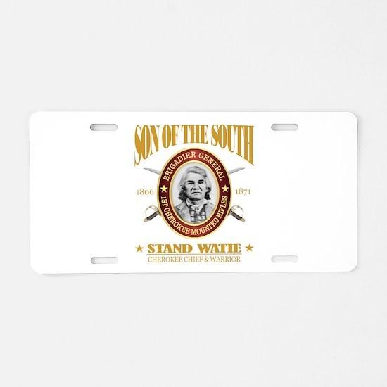 Watie (SOTS2) Aluminum License Plate
