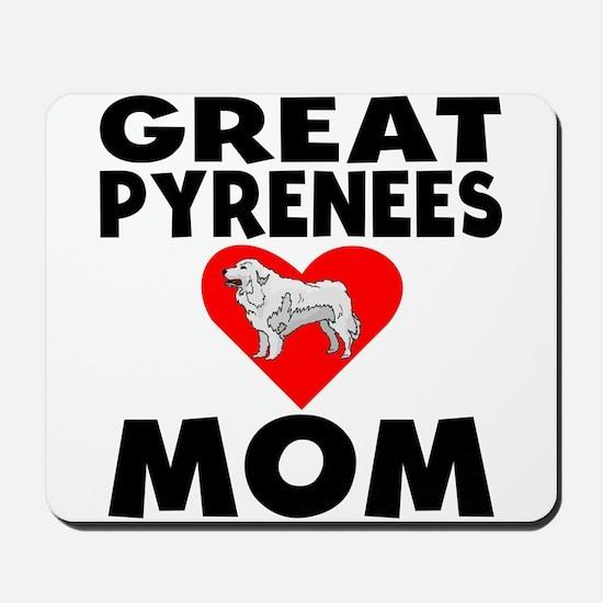 Great Pyrenees Mom Mousepad