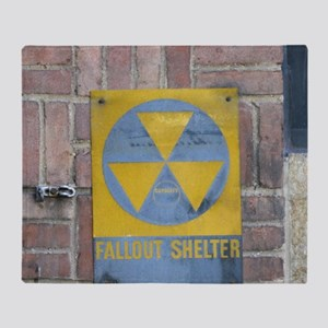 Fallout Shelter Throw Blanket