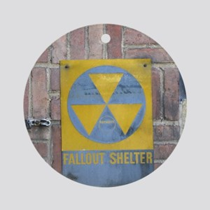 Fallout Shelter Round Ornament