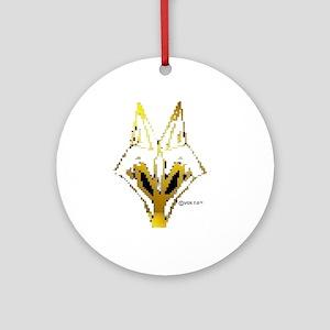 VOX 7.0™ OFFICIAL LOGO BLURR pixela Round Ornament