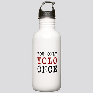 YOLO Once Stainless Water Bottle 1.0L