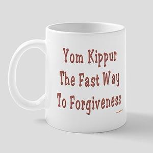 Yom Kippur Forgiveness Mug