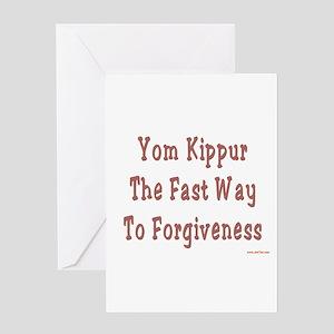 Yom kippur greeting cards cafepress yom kippur forgiveness greeting card m4hsunfo