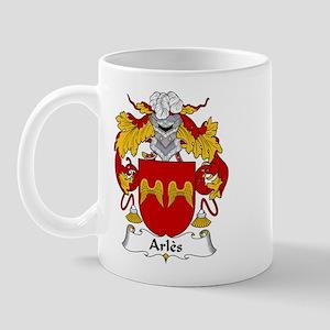 Arles Family Crest Mug