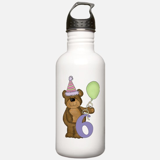 I am 6 Years Old Today Water Bottle