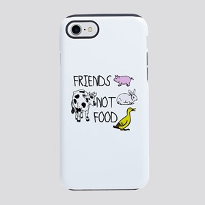 FRIENDS NOT FOOD iPhone 8/7 Tough Case