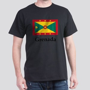Grenada Flag Dark T-Shirt