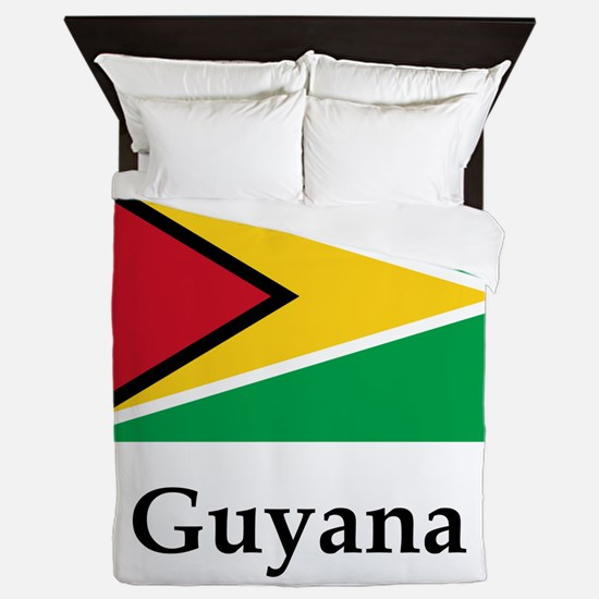 Guyana Flag Queen Duvet