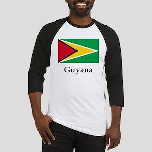 Guyana Flag Baseball Jersey
