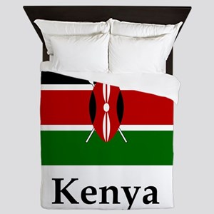 Kenya Flag Queen Duvet