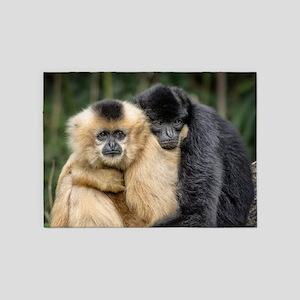 Monkey_2015_0101 5'x7'Area Rug