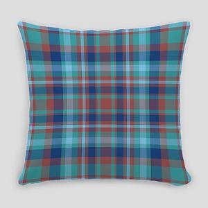 Marsala Plaid Everyday Pillow