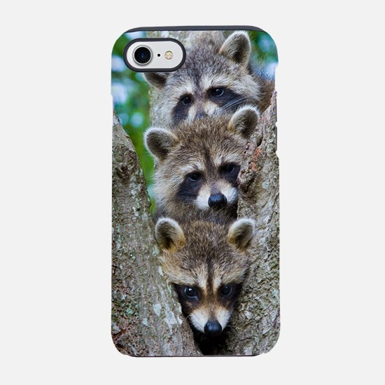 Baby Raccoons iPhone 8/7 Tough Case