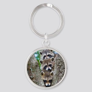 Baby Raccoons Keychains