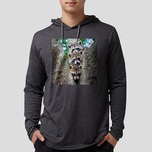 Baby Raccoons Long Sleeve T-Shirt