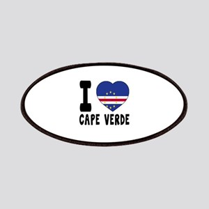 I Love Cape Verde Patch