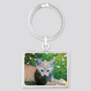 Cat Landscape Keychain