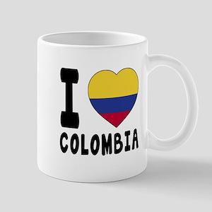 I Love Colombia Mug