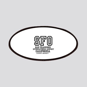 AIRPORT CODES - SFO - SAN FRANCISCO, CALIFOR Patch