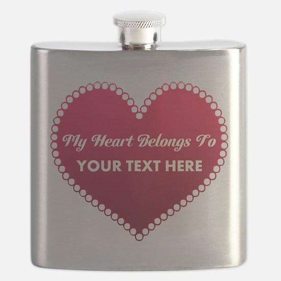 Custom Heart Belongs To Flask