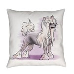 Chinese Crested Everyday Pillow