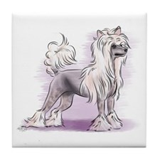 Chinese Crested Tile Coaster