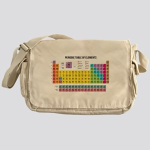 Periodic table gifts cafepress periodic table of elements messenger bag urtaz Images