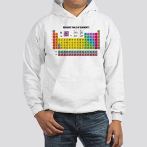 Periodic Table Of Elements Jumper Hoody