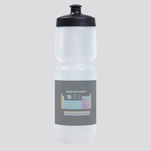 Periodic Table Of Elements Sports Bottle